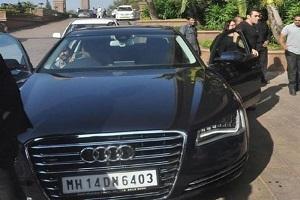 Audi A8L Salman Khan Car