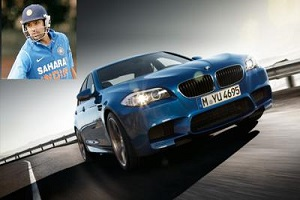 Rohit Sharma BMW M5