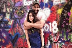 Rohit Sharma and Ritika Sajdeh