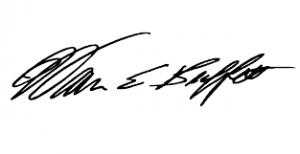 Warren Buffet signature