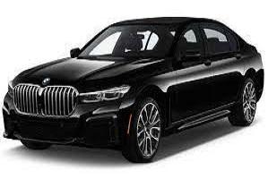 BMW 7 Series Black