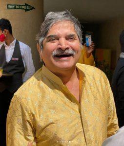 Bhuvan's father