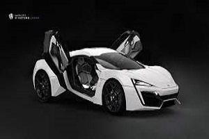 W Motors Lykan Hypersport - $4 million