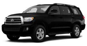 Black Toyota Sequoia