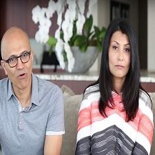Satya Nadella Wife